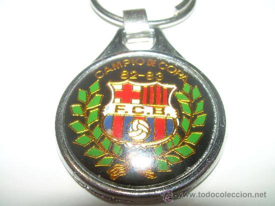LLAVERO.......F.C. BARCELONA.....CAMPIO DE COPA..1982 - 83 (Coleccionismo Deportivo - Medallas, Monedas y Trofeos - Otros deportes)