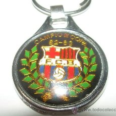 Coleccionismo deportivo: LLAVERO.......F.C. BARCELONA.....CAMPIO DE COPA..1982 - 83. Lote 26928015