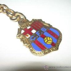 Coleccionismo deportivo: ANTIGUO Y BONITO LLAVERO ESMALTADO......C.F. BARCELONA.. Lote 29872386