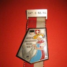 Coleccionismo deportivo: MEDALLA CHAMPIONNAT SUISSE DE BOLOS 1969. Lote 30807913