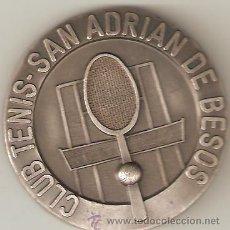 Coleccionismo deportivo: MEDALLA CLUB TENIS SAN ADRIAN DE BESOS. 2º TROFEO PRESIDENTE 1976 .SANT ADRIÁ DE BESOS. BARCELONA.. Lote 31120276