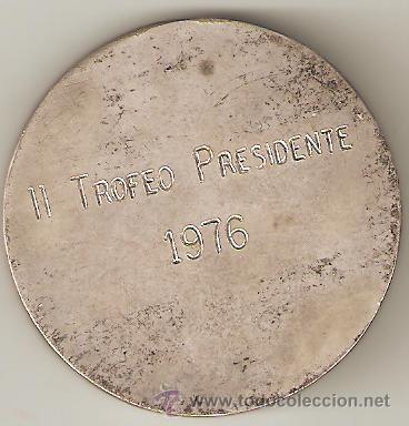 Coleccionismo deportivo: medalla club tenis san adrian de besos. 2º trofeo presidente 1976 .sant adriá de besos. barcelona. - Foto 2 - 31120276