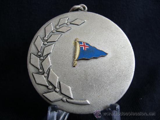 MEDALLA CAMPEONATO NACIONAL FLIYING. ARENYS DE MAR. AÑO 1968. (Coleccionismo Deportivo - Medallas, Monedas y Trofeos - Otros deportes)