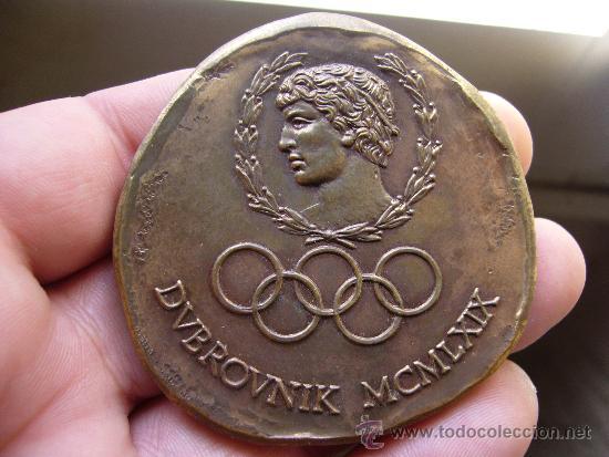 MEDALLA DE PARTICIPANTE DUBROVNIK 1969 (Coleccionismo Deportivo - Medallas, Monedas y Trofeos - Otros deportes)