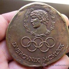 Coleccionismo deportivo: MEDALLA DE PARTICIPANTE DUBROVNIK 1969. Lote 31661719