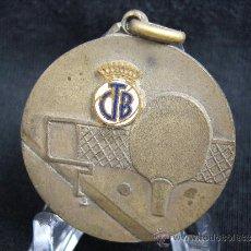 Coleccionismo deportivo: MEDALLA CTB. CNES MAÑANA. AÑO 1960.. Lote 31666241