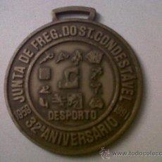 Coleccionismo deportivo: MEDALLA 32 ANIVERSARIO JUNTA DE FREG.DOST.CONDESTÁVEL-DESPORTO 1959-1991. Lote 31880016