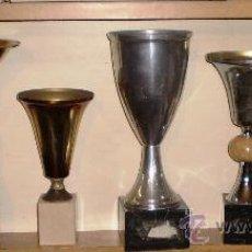 Coleccionismo deportivo: LOTE DE SEIS COPAS DEPORTIVAS ANTIGUAS. Lote 31872896