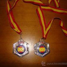 Coleccionismo deportivo: MEDALLA EN PLATA DEL TIRO OLIMPICO NACIONAL. Lote 32307480