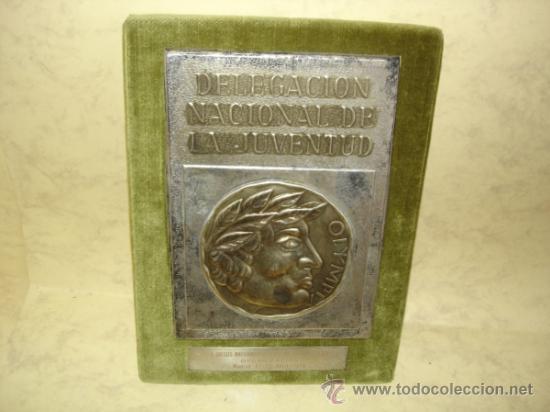 DELEGACION NACIONAL DE LA JUVENTUD - MADRID 27/30 ABRIL 1970 (Coleccionismo Deportivo - Medallas, Monedas y Trofeos - Otros deportes)