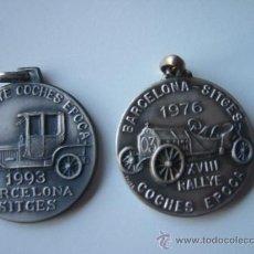 Coleccionismo deportivo: MEDALLAS RALLYE BARCELONA - SITGES . Lote 33050936