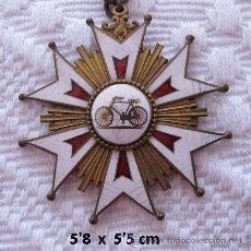 Coleccionismo deportivo: MEDALLA DE CICLISMO 1920 GRANDE FRANCIA. Lote 33321637