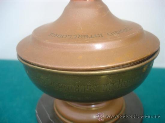 Coleccionismo deportivo: copa de trofeo 1953 - Foto 2 - 34134219