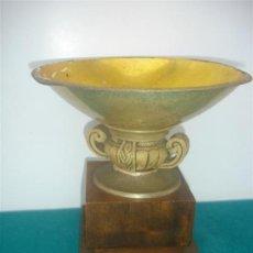 Coleccionismo deportivo: COPA DE TROFEO METAL Y MADERA. Lote 34134286