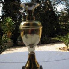 Coleccionismo deportivo: COPA - TROFEO EN LATON CON BASE EN MARMOL NEGRO.. Lote 34269408
