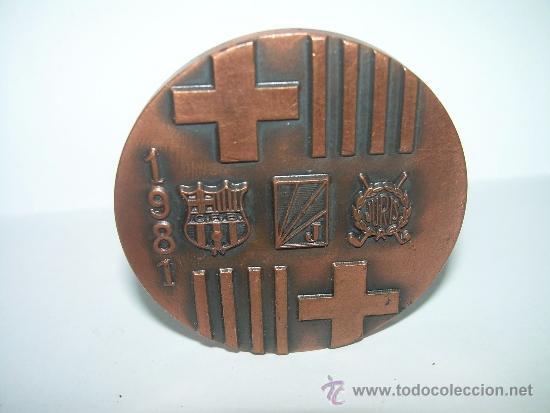 Coleccionismo deportivo: MEDALLA IN MEMORIAM PABLO NEGRE...HOCKEY CIUDAD DE BARCELONA..1981. - Foto 3 - 34248956