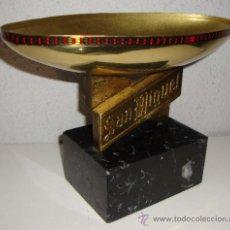 Coleccionismo deportivo: INTERESANTE TROFEO COPA CERVEZA SAN MIGUEL . Lote 34266150