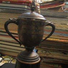 Coleccionismo deportivo: TROFEO - AYUNTAMIENTO DE TARRAGONA - XXII TRAVESIA DEL PUERTO - 1948 - . Lote 34990414