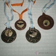 Sports collectibles - cuatro medallas deportivas - 35705526
