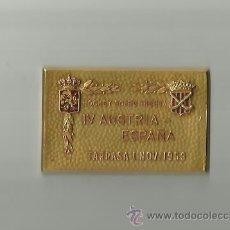 Coleccionismo deportivo: IMPORTANTE PLACA DE HOCKEY, IV AUSTRIA-ESPAÑA 1-11-53 VER FOTOS ANEXAS.. Lote 36662557