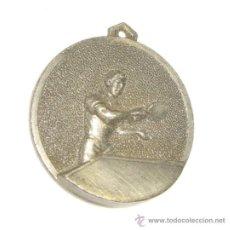 Coleccionismo deportivo: MEDALLA METALICA PING PONG - TENIS DE MESA - REUS (TARRAGONA). Lote 36834532