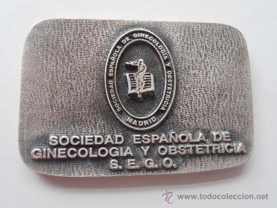 ANTIGUA MEDALLA DE LA SOCIEDAD ESPAÑOLA DE GINECOLOGIA Y OBSTETRICIA (Coleccionismo Deportivo - Medallas, Monedas y Trofeos - Otros deportes)