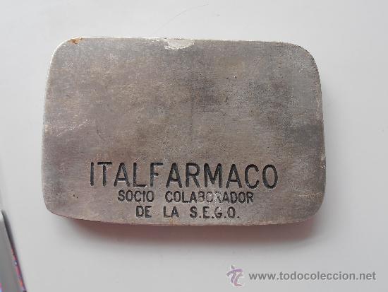 Coleccionismo deportivo: Antigua Medalla de la Sociedad Española de Ginecologia y Obstetricia - Foto 2 - 37190913