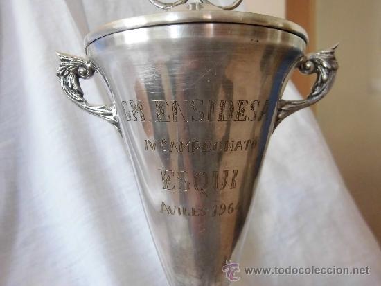 Coleccionismo deportivo: COPA TROFEO GM ENSIDESA IV CAMPEONATO DE ESQUI AVILES 1964 - Foto 8 - 38206509