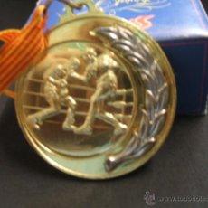 Collectionnisme sportif: MEDALLA DE BOXEO - BOXA AMATEUR - CPAT. DE CATALUNYA - ESPLUGUES DE LLOBREGAT - . Lote 39934978