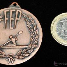 Coleccionismo deportivo: MEDALLA DE LA FEDERACION ESPAÑOLA DE PIRAGUISMO. Lote 41043618