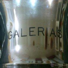 Coleccionismo deportivo: ANTIGUO TROFEO GALERIAS EN ALPACA. Lote 41252062
