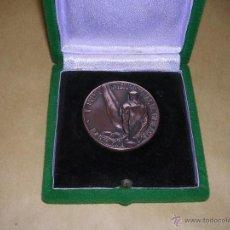 Coleccionismo deportivo: MEDALLA DE BRONCE I PREMIO INTERNACIONAL DE GIMNASIA BARCELONA OCTUBRE 1955. Lote 41545403