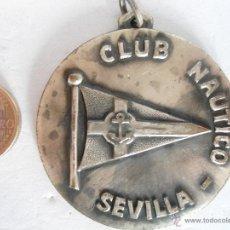 Collectionnisme sportif: MEDALLA METAL CLUB NAUTICO DE SEVILLA 1970 ATLETISMO. Lote 42478475