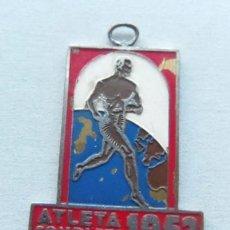 Coleccionismo deportivo: MEDALLA DE ATLETISMO - ATLETA COMPLETO 1952. Lote 42678467