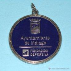 Collezionismo sportivo: MEDALLA DE DEPORTES. FUNDACIÓN DEPORTIVA DEL AYUNTAMIENTO DE MÁLAGA. Lote 43155127