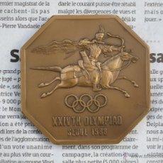 Sports collectibles - MEDALLA CONMMEMORATIVA XXIV OLIMPIADA SEOUL 1988 - 43268465