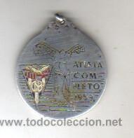 BUENA MEDALLA DE PLATA - CLUB NATACIÓN BARCELONA - ATLETA COMPLETO 1959 (Coleccionismo Deportivo - Medallas, Monedas y Trofeos - Otros deportes)