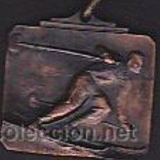 Coleccionismo deportivo: MEDALLA CONMEMORATIVA TROFEO AIXIMENO ESQUI FONDO MOLINA 1944. Lote 44198791