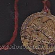 Coleccionismo deportivo: MEDALLA INAUGURACION REFUGIO LUIS ESTASEN 1949. Lote 44199327