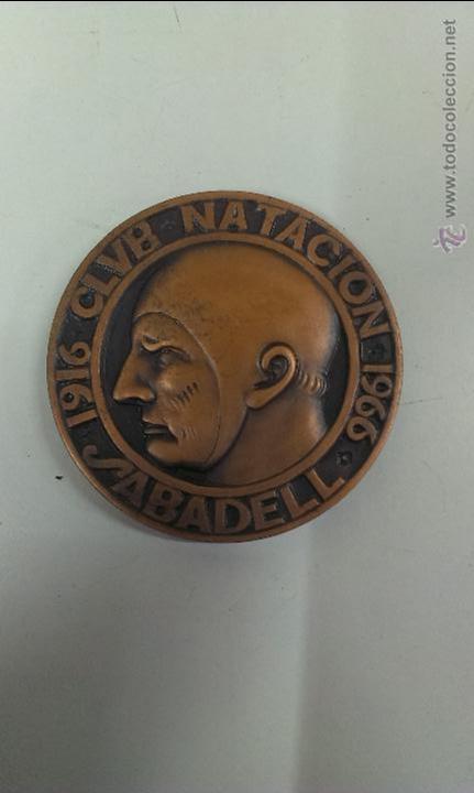 MEDALLA CLUB NATACION SABADELL 1916 - 1966 (Coleccionismo Deportivo - Medallas, Monedas y Trofeos - Otros deportes)