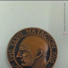 Coleccionismo deportivo: MEDALLA CLUB NATACION SABADELL 1916 - 1966. Lote 45185751