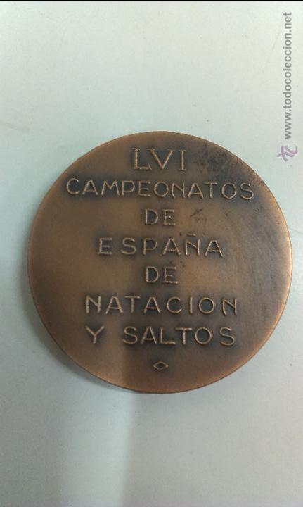 Coleccionismo deportivo: MEDALLA CLUB NATACION SABADELL 1916 - 1966 - Foto 2 - 45185751