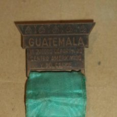Coleccionismo deportivo: MEDALLA. VI JUEGOS DEPORTIVOS CENTRO AMERICANOS Y DEL CARIBE. GUATEMALA. FEB - MARZO 1950. Lote 45459624