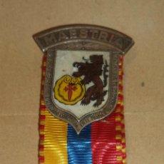 Coleccionismo deportivo: MEDALLA. XXXVI CAMPEONATO MUNDIAL DE TIRO. CARACAS. NOVIEMBRE 1954. MAESTRIA. Lote 45460137