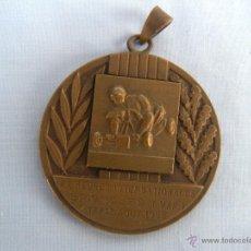 Collectionnisme sportif: MEDALLA DE BRONCE AÑO 1968 CARRERA DE COCHES. Lote 46367468