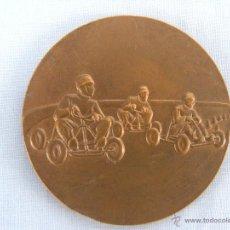 Collectionnisme sportif: MEDALLA DE BONCE CARRERAS DE COCHES. Lote 46367565