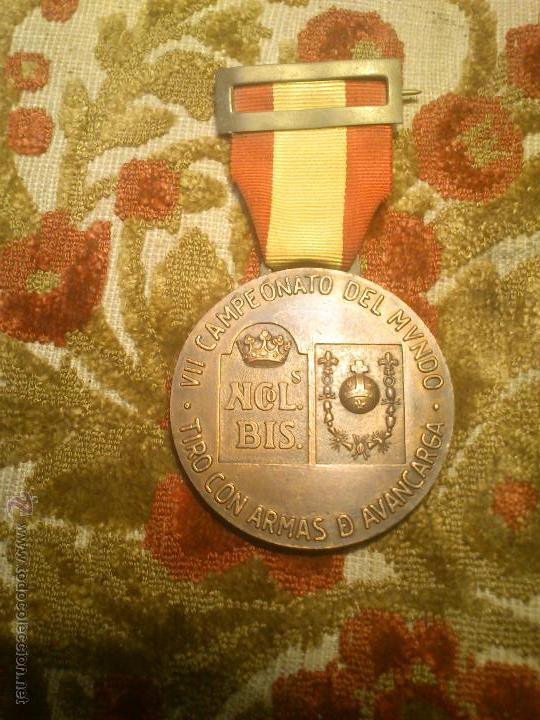 Coleccionismo deportivo: insignia, medalla pin de tiro olimpico - Foto 2 - 46412258