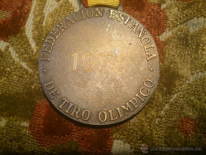 Coleccionismo deportivo: insignia, medalla pin de tiro olimpico - Foto 3 - 46412258