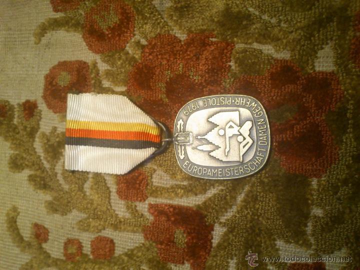 Coleccionismo deportivo: insignia, medalla pin de tiro olimpico - Foto 3 - 46412294