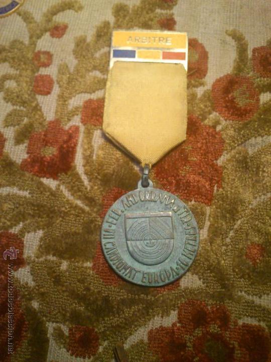 Coleccionismo deportivo: insignia, medalla pin de tiro olimpico - Foto 4 - 46412423
